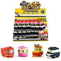 """Сквиш """"Робот Поезд"""" (4 вида), лизуны,антистресс,жвачка для рук,антистрессовые игрушки"""