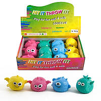 Игрушка антистресс 12 ШТУК В БЛОКЕ, лизуны,антистресс,жвачка для рук,антистрессовые игрушки