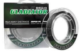 Шнур Gladiator Super PE 100m темно-зеленый