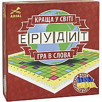 Настольная игра Arial Ерудит-УКР. Гра в слова 910107 ,