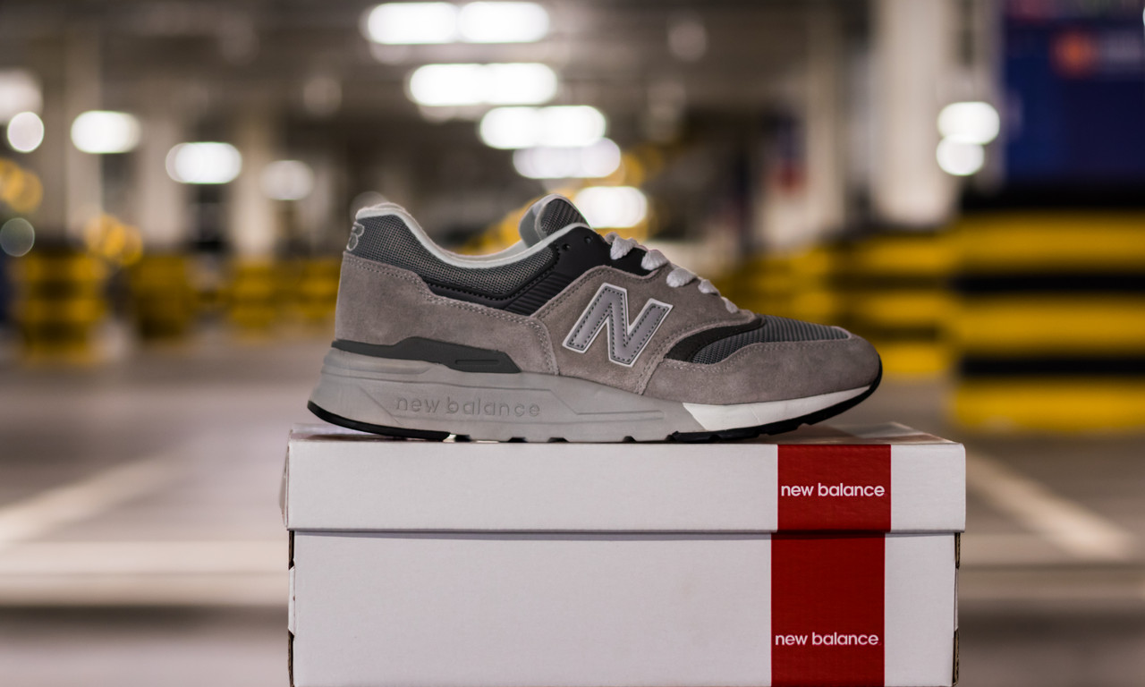 Кроссовки мужские New Balance 997 Made in USA Grey