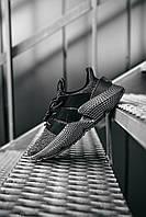 Обувь мужская Адидас Профер Блэк. Кроссы в черном цвете Adidas Prophere Black для мужчин.