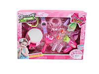 Набор аксессуаров DA7012 (DA7013), игрушки для девочек,игрушечный салон красоты,детское трюмо,трюмо для