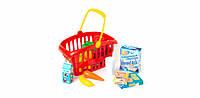 """Корзинка """"Супермаркет"""" 362B2 , игрушки для девочек,детский игровой набор магазин,детские игрушки,игровой набор"""