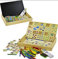 Деревянная игрушка Набор первоклассника MD1314 (B), игрушки для малышей,сотер,деревянные игрушки,самых