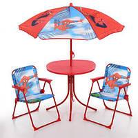 Детский стол со стульчиками Bambi Spider Man (93-74-SP)