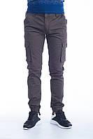 Мужские брюки карго цвет хаки