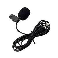 Микрофон петличный петличка для ПК, ноутбука, камеры TRS 3pin