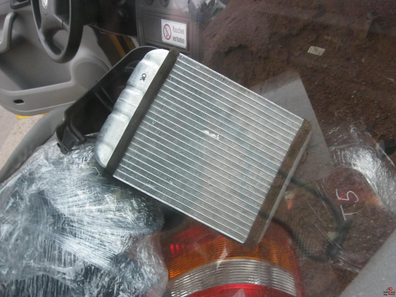 радиатор отопителя на транспортер т5