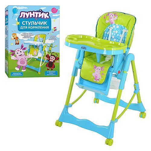 Дитячий стільчик для годування Bambi LT 0008 U / R Голубо-зелений