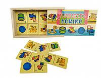 Деревянная игрушка Домино MD 2198 (Игрушки), деревянные игрушки,деревянные игрушки развивающие,интерактивная