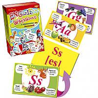 Комплект ENGLISH ALPHABET для малышей MKA0003, детские развивающие настольные игры,игрушки для малышей,детская