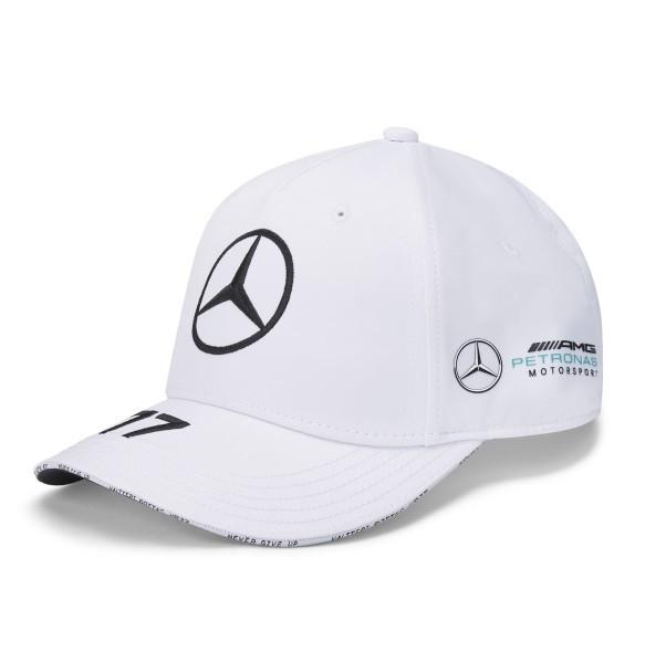 Бейсболка Mercedes F1 Cap Valtteri Bottas, Edition 2020 года, White, артикул B67996381