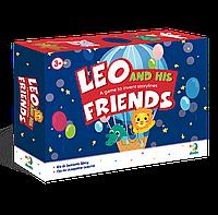 """Игра на составление сюжета """"Лео и его друзья"""" 300210, детские развивающие настольные игры,игрушки для"""