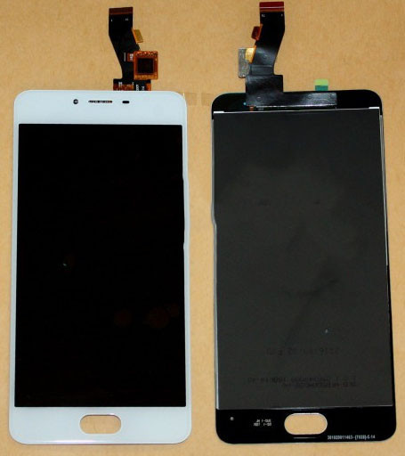 Модуль Meizu M3S white (FPC-5011-REV.2) дисплей экран, сенсор тач скрин Мейзу