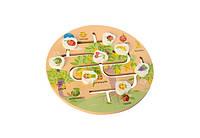 Деревянная игрушка Игра MD 2355 (Фрукты), деревянные игрушки,деревянные игрушки развивающие,интерактивная