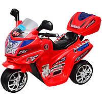 Дитячий електромотоцикл Bambi F938 Червоний (M0566 / F938-3)