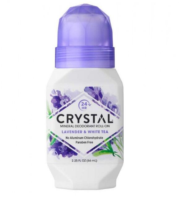 "Шариковый дезодорант ""Кристалл"" лаванда и белый чай, 66 мл, США-Тайланд"