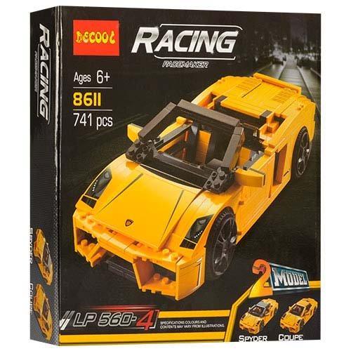 Конструктор Decool Lamborghini 2 в 1 (8611)