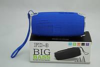 Портативная аудио колонка Bluetooth FD3 Blue