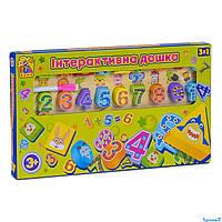 Детская интерактивная доска 3 в 1 Fun Game 7409 (12)