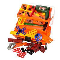 Детский игровой набор инструментов Bambi в чемодане (2108)
