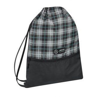 Спортивна сумка-рюкзак Mercedes F1 Drawstring Sports Bag, Season 2020 року, Black, артикул B67996359