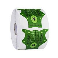 Формы для наращивания ногтей Starlet Professional зеленые 500шт