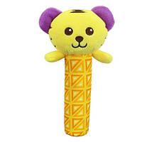 Мягкая погремушка Ласковый тигрёнок Happy Monkey