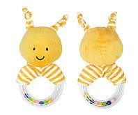 Мягкая погремушка Золотистая пчёлка Dolery