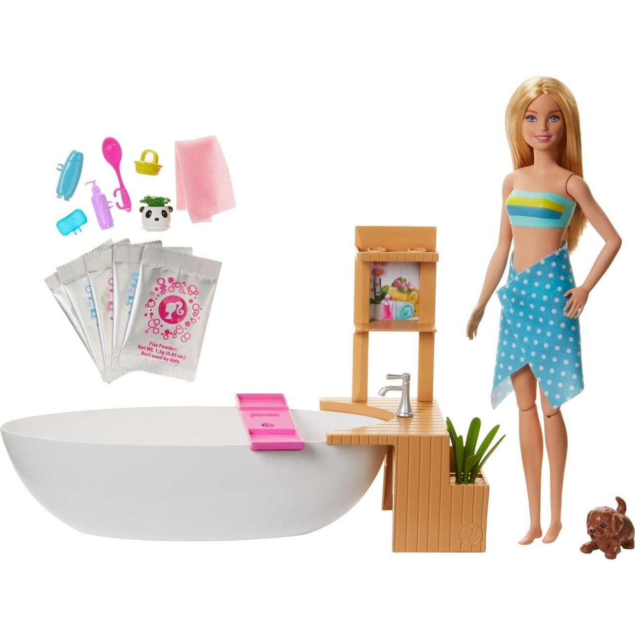 Barbie Ванная комната Barbie Fizzy Bath Mattel GJN32