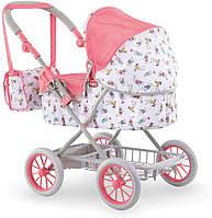 Коляска-люлька для кукол раскладная с корзиной и сумкой для аксессуаров Corolle 9000140460