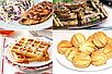 Сендвичница 4 В 1 Вафельница Гриль Орешница Тостер DOMOTEC Сформа, фото 5