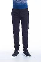Мужские брюки карго черные