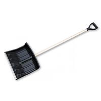 Лопата для чистки снега, большая с черенком