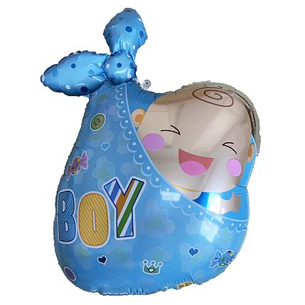 Фол шар фигура Малыш в пеленке Мальчик (Китай), фото 2