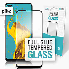 Защитное стекло Piko для Realme 6 Pro Black Full Glue, 0.3mm, 2.5D (1283126501067)