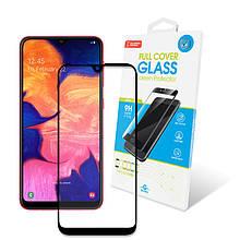 Захисне скло Global для Samsung Galaxy A10 SM-A105 Full Glue Black (1283126490972)