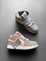 Кожаные кроссовки женские Nike Air Jordan (2020, Найк, размер 36, 38) Кросівки жіночі Найк Аір