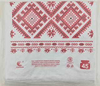 Пакет майка п\э 34см 58см  Вышиванка Комсерв (100 шт)