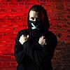 Маска защитная на лицо MSD Cross многоразовая двухслойная Черный (3117), фото 3