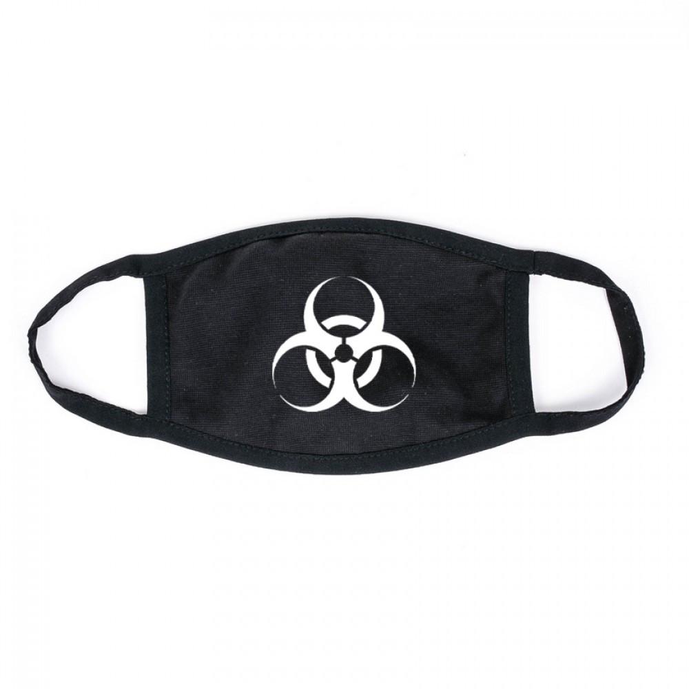 Защитная маска MSD Virus-Cobra x многоразовая двухслойная Черный (5817)