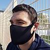 Маска Питта для защиты органов дыхания Неопрен Черная (hub_bWWc33387), фото 2