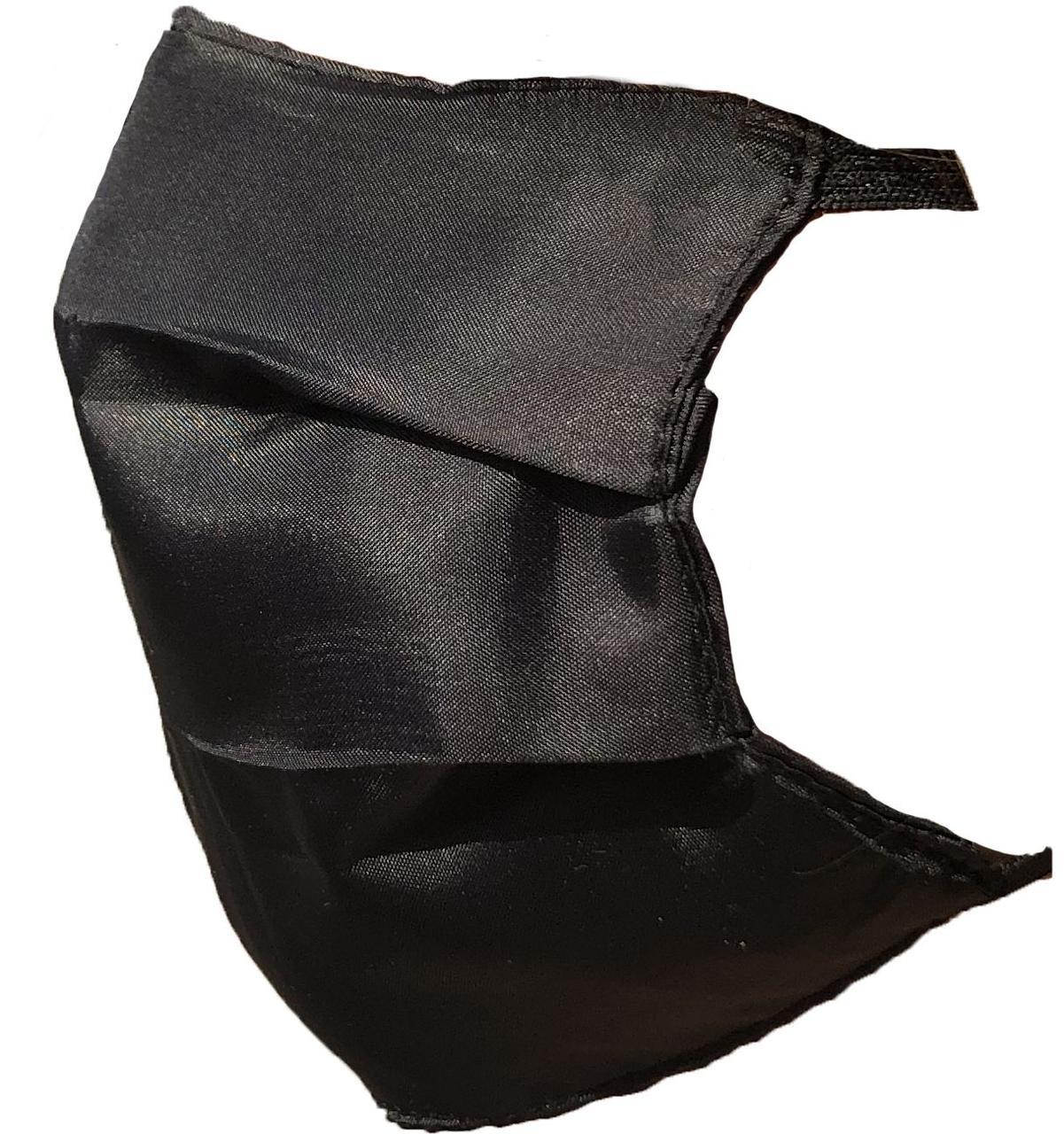Защитная многоразовая маска 1 шт Черный (100001)