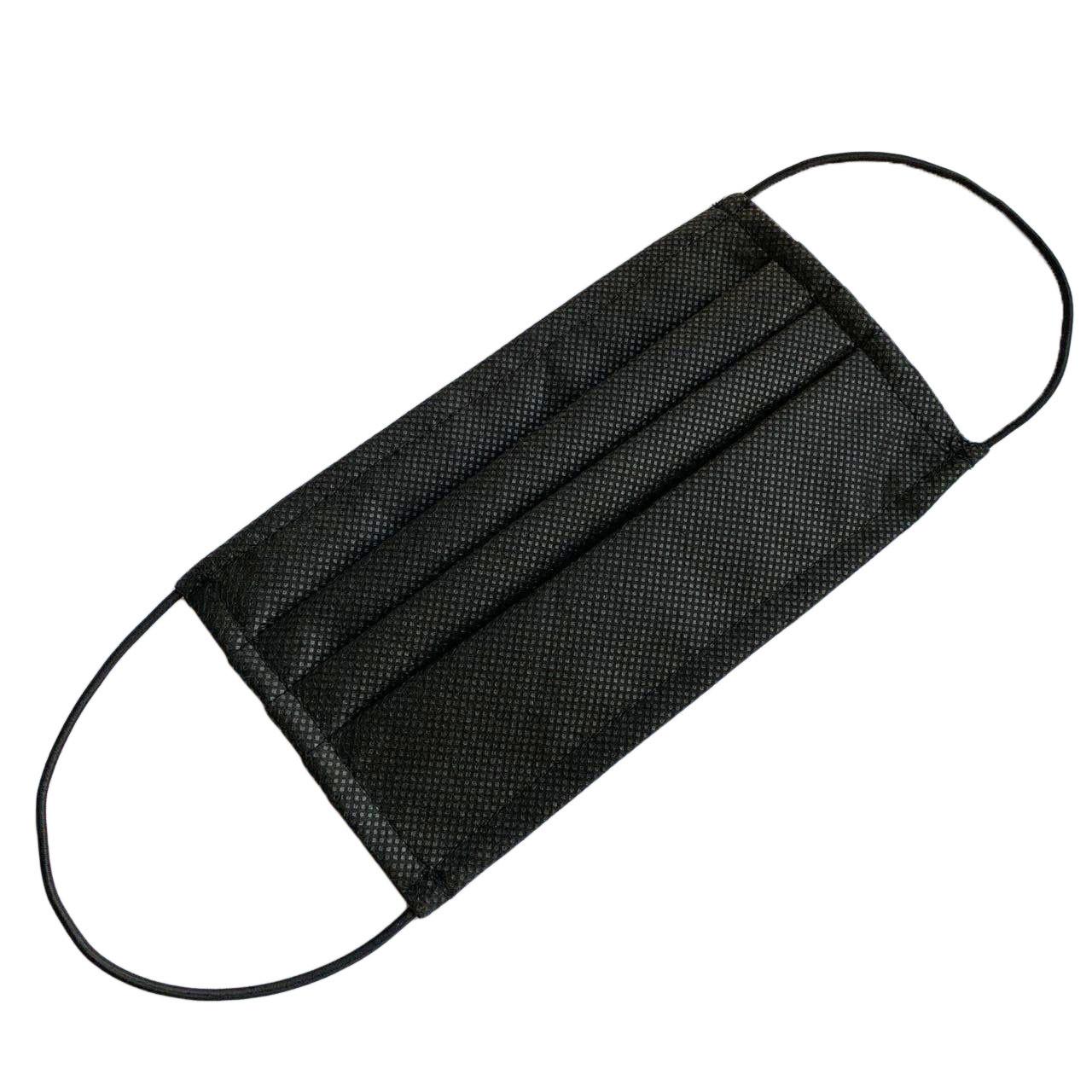Набор защитных масок GoodMask 10 шт Черные (20238)