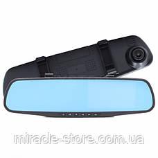 Дзеркало відеореєстратор з камерою заднього виду (2 камери) FHD, фото 2