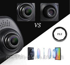 Дзеркало відеореєстратор з камерою заднього виду (2 камери) FHD, фото 3