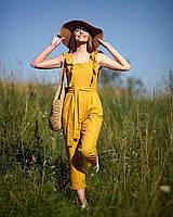 Льняной комбинезон женский в размере 42,44,46,48