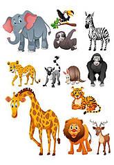 "Вафельна картинка  ""Тварини"""