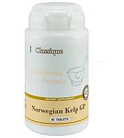 Norwegian Kelp GP (Сантегра - Santegra) Норвиджен Норвежский Келп - Ламинария, органический йод - 150 мкг, фото 1